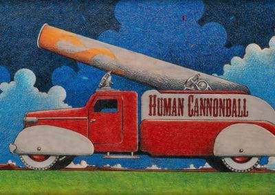 Human Cannonball Truck